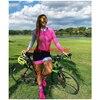 Aofly longo mangas compridas camisa de ciclismo skinsuit 2020 mulher ir pro mtb bicicleta roupas opa hombre macacão almofada rosa skinsuit macaquinho ciclismo feminino manga longa roupas com frete gratis macacao ciclis 7