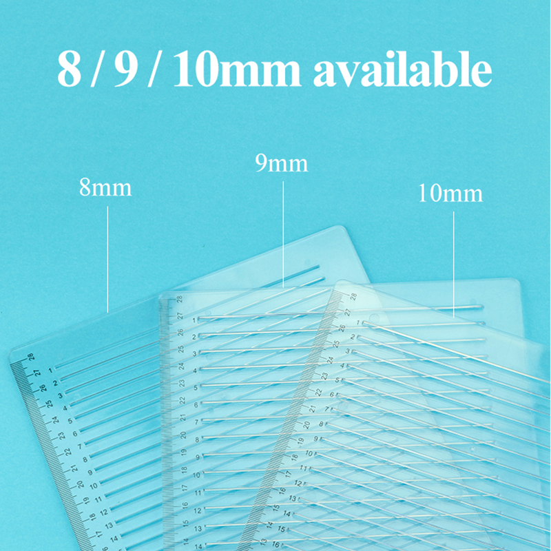 Auxiliary Tool Postgraduate Extrance Exam Straight Line Special Ruler Soft/Hard 8/9/10mm Transparent Ruler Square Ruler Supplies