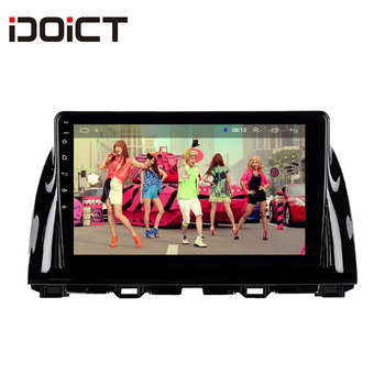 IDOICT Android 9.1 Car DVD Player GPS Navigation Multimedia For Mazda CX5 CX-5 Radio 2013-2016 car stereo wifi image