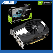ASUS GeForce GTX 1650 Super overclocké 4 go Phoenix ventilateur édition HDMI DP DVI carte graphique \u0028PH-GTX1650S-O4G\u0029