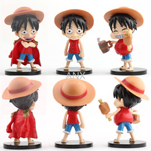 5-17CM One Piece Figure Luffy Ace Boa Hancock Zoro The straw hat Pirates PVC Action Anime Collection Toys