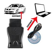 ล่าสุดOBD 14 Pin USB Interfaceเครื่องมือวินิจฉัยรถยนต์สำหรับNissanรถตั้งแต่ปี1989ถึง2000 Fault Code Scanสายเชื่อมต่อPC