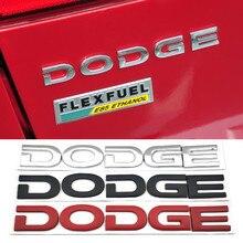 Bagażnik samochodowy naklejana etykieta dla Dodge Journey kaliber Durango Nitro Challenger Neon Avenger ładowarka karawana Ram Stratus Hellcat Dart