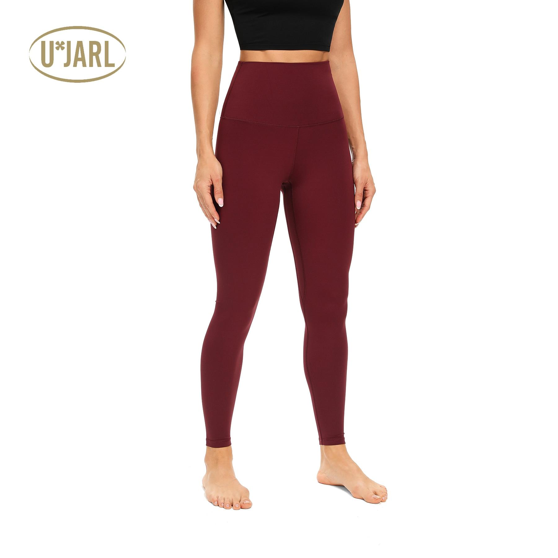 UxJARL Women's Tummy Control Yoga Pants with Hidden Pocket High Waist Gym Breathable Leggings Textured Booty Tights|Yoga Pants| - AliExpress