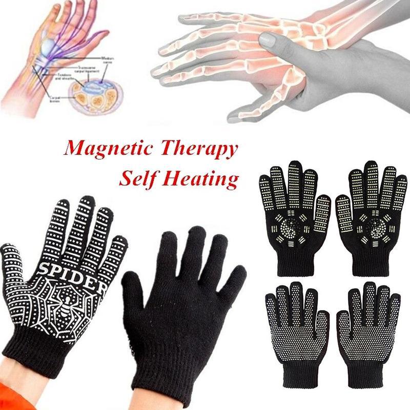 Magnetic Massage Heat Gloves Anti Arthritis Health Compression Therapy Gloves Rheumatoid Hand Pain Wrist Rest Sport Safety Glove