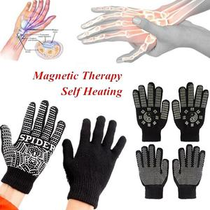 Magnetic Massage Heat Gloves A