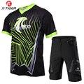X-Tiger  короткий рукав  комплект Джерси для горного велосипеда  летняя рубашка для горного велосипеда  комплект спортивной одежды  дышащая вел...
