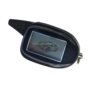 M7 2-way LCD Remote Control Key Chain Fob For Russian Two Way Car Alarm System Scher Khan M7 Scher-Khan Magicar 7 Keychain