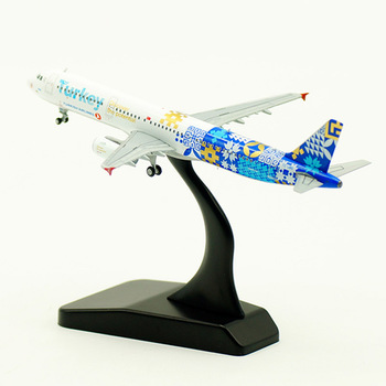 about 11CM 1:400 Airbus A321 model Turkish airlines with landing gear alloy aircraft plane collectible display model collection