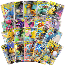 Pokemones-Cards Trading-Gx Game-Collection MEGA English-Language-Toy NEW TEAM for Funs