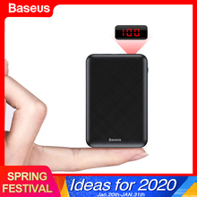 Baseus 10000mAh Mini Power Bank Portable USB Type C Fast Cha