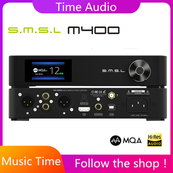 SMSL M400 MQA DAC AK4499 Full Balanced aptX-HD Bluetooth5.0 DSD Decoder
