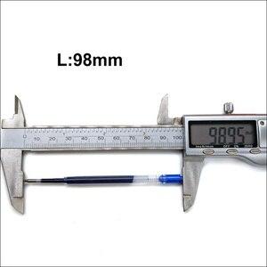 Image 4 - סיטונאי ניטראלי כחול שחור ג ל עט מילוי משרד כתיבה 424 G2 ג ל דיו 0.5mm עט ציפורן מכירות