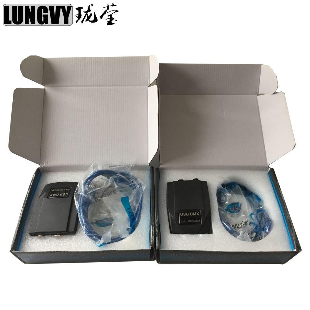Livraison gratuite 2 pièces/lot Martin lumière Jockey 1024 USB contrôleur PC Windows basé contrôleur USB DMX Interface Led lumière de scène