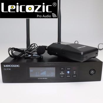 Leicozic Professional Microphone Lavalier Mic UHF QLXD4 QLX D4 Digital Wireless Mic System True Diversity Wireless Microphone