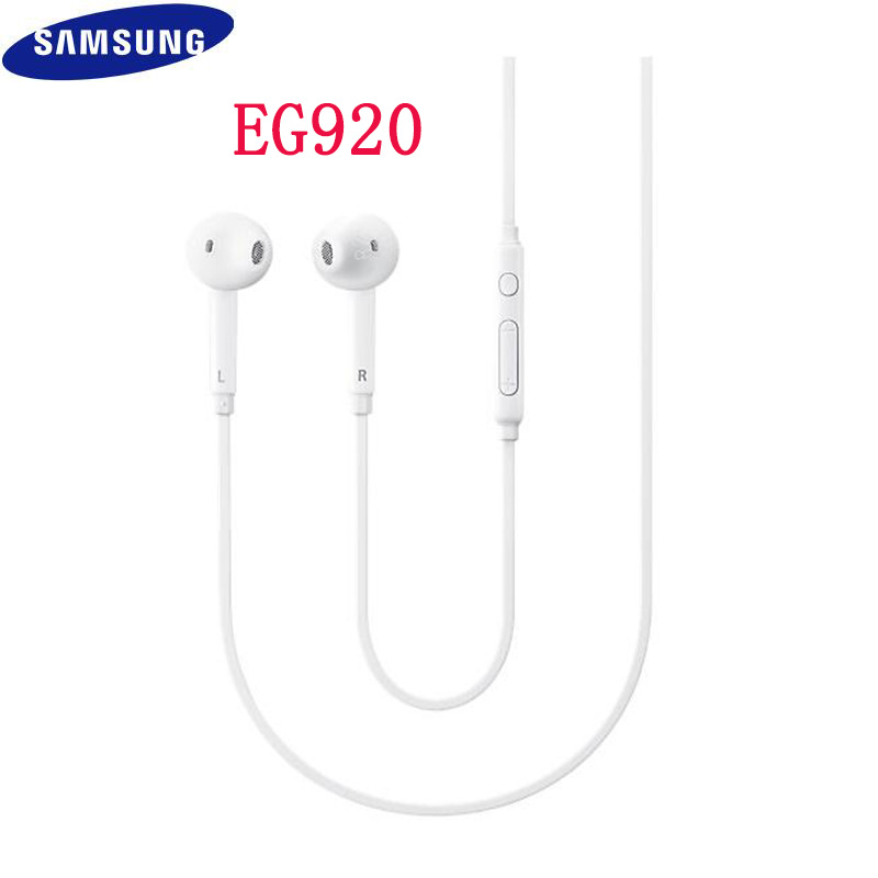 In Ear Earphone White For Samsung Galaxy S6 Wired Headset With Mic 3 5mm Jack Headphone For Cell Phone Adjustable Volume 80 Phone Earphones Headphones Aliexpress