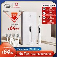 FRMAY003($30-$3)/FRMAY008 ($80-$8) [Première mondiale] Oclean X Pro Elite Sonic Mute brosse à dents électrique intelligente IPX7 mise à niveau de charge rapide pour X Pro