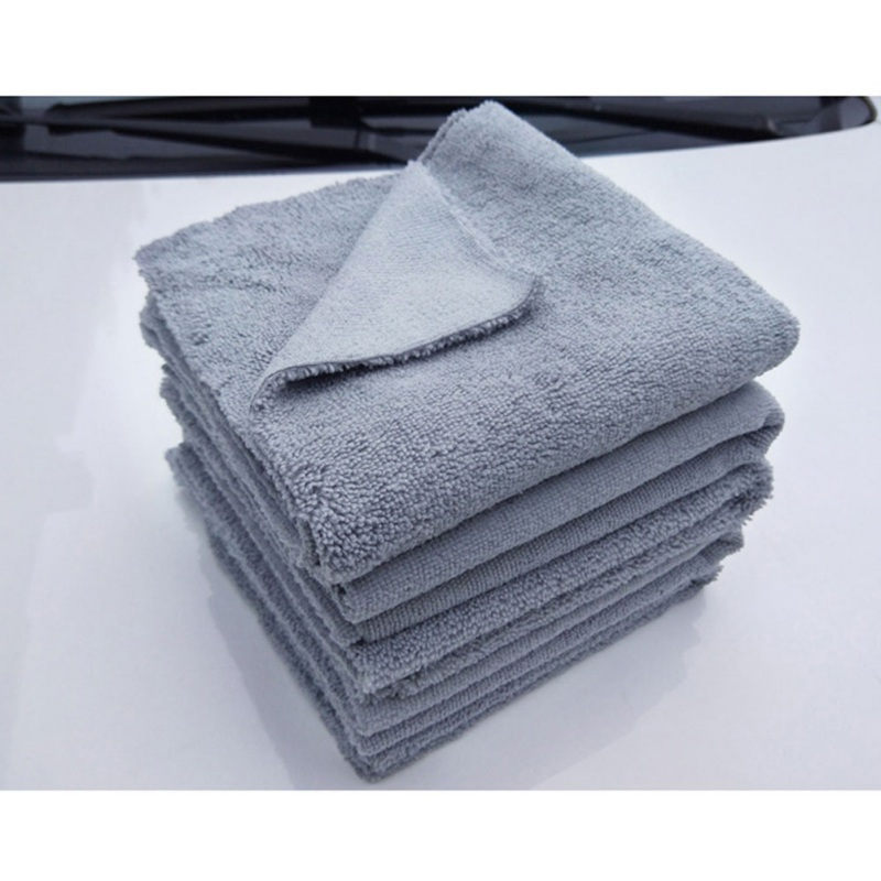 Microfiber Cloth 40x40cm Premium Detailing Towel For Polishing Buffing Finishes Car Wash Tool