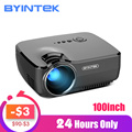 BYINTEK Merk SKY GP70 Draagbare Mini LED Cinema Video Digitale HD Home Theater Projector Beamer Projector