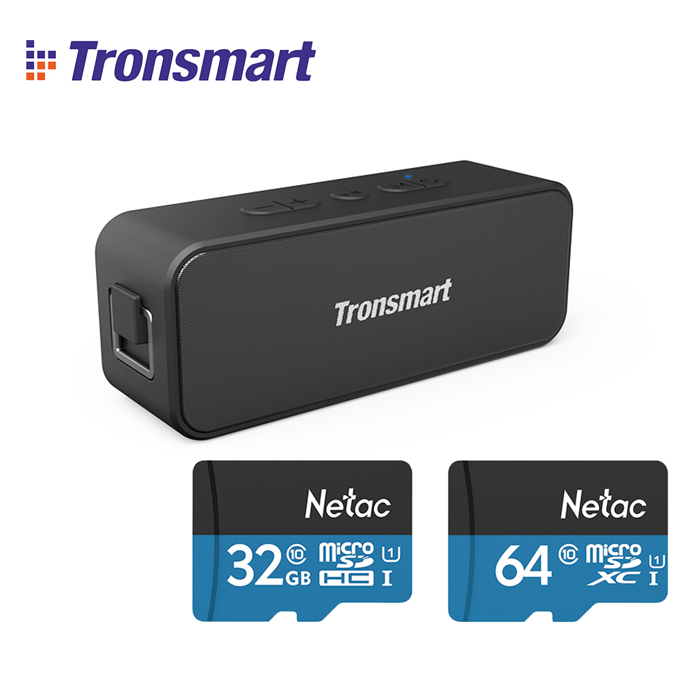 Tronsmart Bluetooth Bass Playtime Powerful Waterproof IPX7 Tws Portable T2-Plus  title=