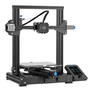 Image 5 - Carte mère 3D Ender 3 V2 avec pilotes pas à pas TMC2208 silencieux nouvelle interface utilisateur et 4.3 pouces couleur Lcd Carborundum lit en verre imprimante 3D