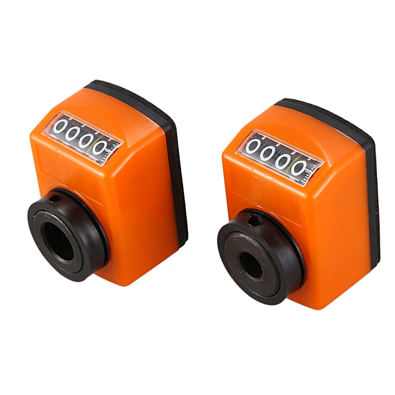 2 Pcs Digital Position Display 8Mm, 12mm Digital Position Indicator Machine Industry Counter