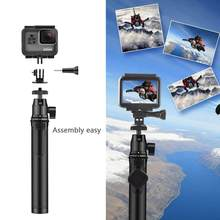 Inalámbrico Mini Bluetooth palillo de autofoto Monopod trípode para iPhone Xs MAx X Android IOS Gopro héroe 7 6 Yi Cam(China)