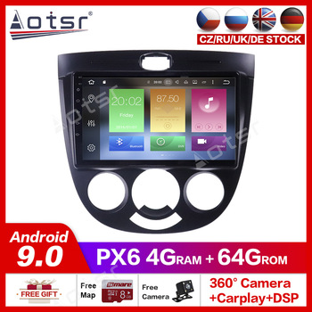 Android10.0 Car gps radio player for Buick Excelle 2004-2007 car dvd player Multimedia GPS Navigation Mirror Link USB WIF radio image