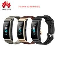 Huawei-pulsera inteligente TalkBand B5 con Bluetooth, muñequera deportiva portátil con pantalla táctil AMOLED, auriculares y llamadas, novedad de 99%
