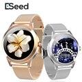 Женские Смарт-часы ESEED 2021 с сенсорным экраном, водонепроницаемые IP68, с пульсометром и мониторингом сна, фитнес-браслет, Смарт-часы