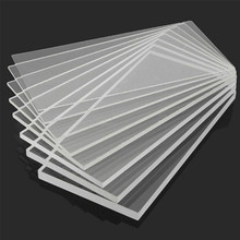 Plexiglass Transparent Clear plastic Sheet acrylic board organic glass polymethyl methacrylate 1.5mm thickness 100*300mm