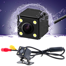 Car Rear View Camera Universal Backup Parking Camera 4 LED Night Vision Waterproof 170 Wide Angle HD Color Image