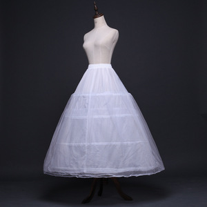 Image 3 - 2020 כלה אביזרי חתונה תחתונית תחתוניות 4 חישוקי קרינולינה תחתוניות כדור שמלת חתונת שמלות Jupon זול