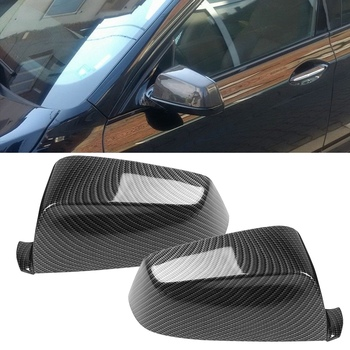 1 Pair Rearview Wing Mirror Cover Housing for BMW E60 E61 F07 F10 F11 E63 E64 F06 F12 F13 F01 F02 F03 F04 Side Mirror Housing
