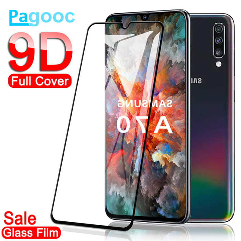 9D Tempered Glass On For Samsung Galaxy A10 A20 A30 A40 A50 A60 A70 A80 A90 Glass M10 M20 M30 M40 A9 Screen Protector Film Case
