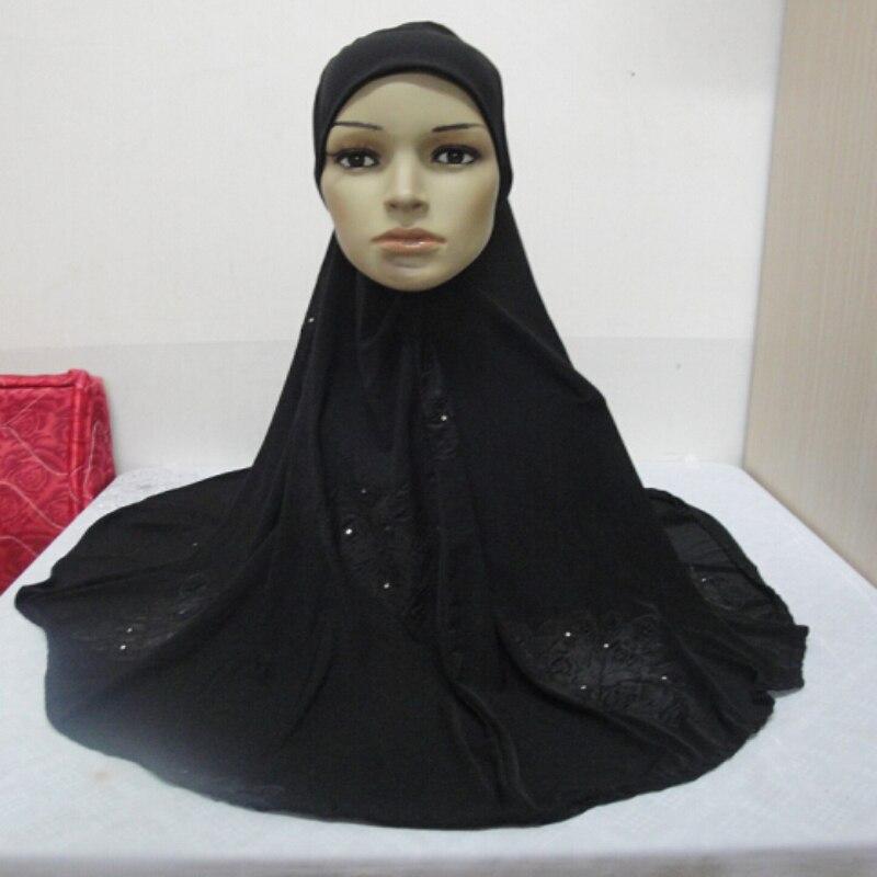 Metallic hijab Slip On Instant Amira Style Modal stretchy Jersey Hijab scarf