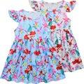 Платье для девочек  Новинка лета 2019  Детские дизайнерские платья с рисунком для детей 3 -7 лет