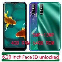 6.26Inch Water Drop Screen P40 Pro 4G Ram 64G Rom Unlocked Gezicht Id Erkenning Android Mobiele Telefoons 13MP Smartphones Mobiele Telefoon