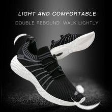 ONEMIX Summer Running Shoes For Men Unisex Breathable Sport Shoes Comfort Sneakers Outdoor Travel Walking Jogging Footwear 2020