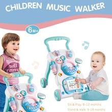 Trotteur multifonctionnel pour bébés   Nouveaux jouets d'apprentissage pour tout-petits assis-to-debout, trotteur, jouets comme cadeau d'anniversaire pour bébés enfants