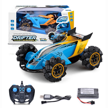 4WD 4CH 1:12 RC Spray Stunt Car Gesture Remote Control Crawler High Speed Twist Race Drift Off-Road Vehicle with LED Light