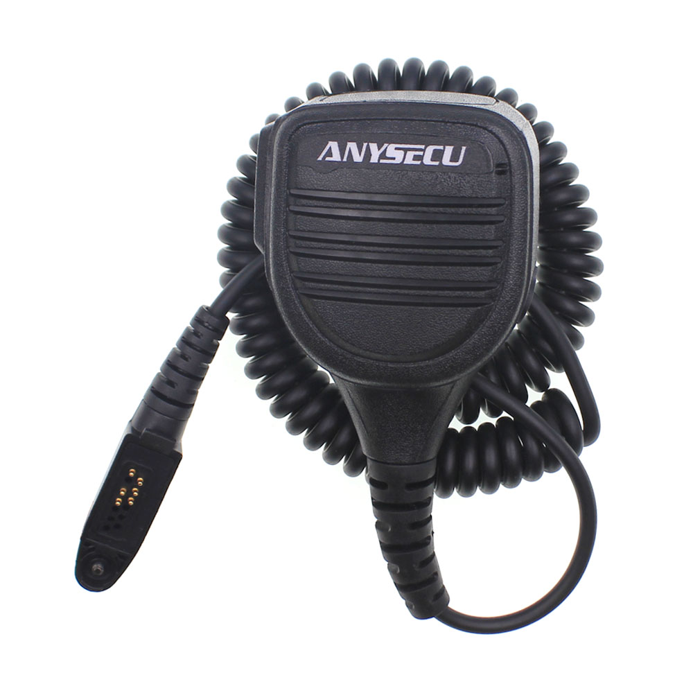 Anysecu High Quality Handheld Microphone For 4G Android Mobile Phone Walkie Talkie Inrico T320