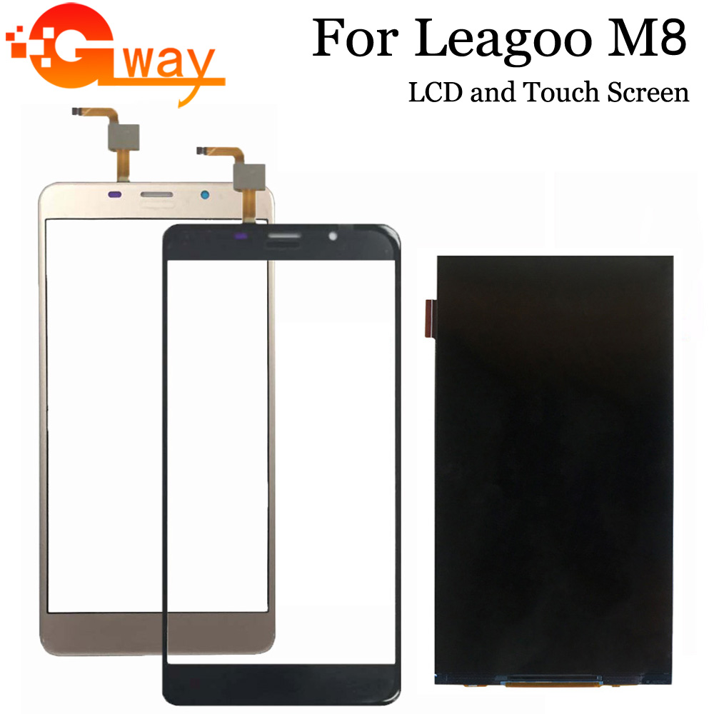 """5.7"""" For Leagoo M8 LCD Display and Touch Screen Assembly Repair Parts Replacement Phone Accessories For Leagoo M8 Pro LCD Mobile Phone LCD Screens     - title="""