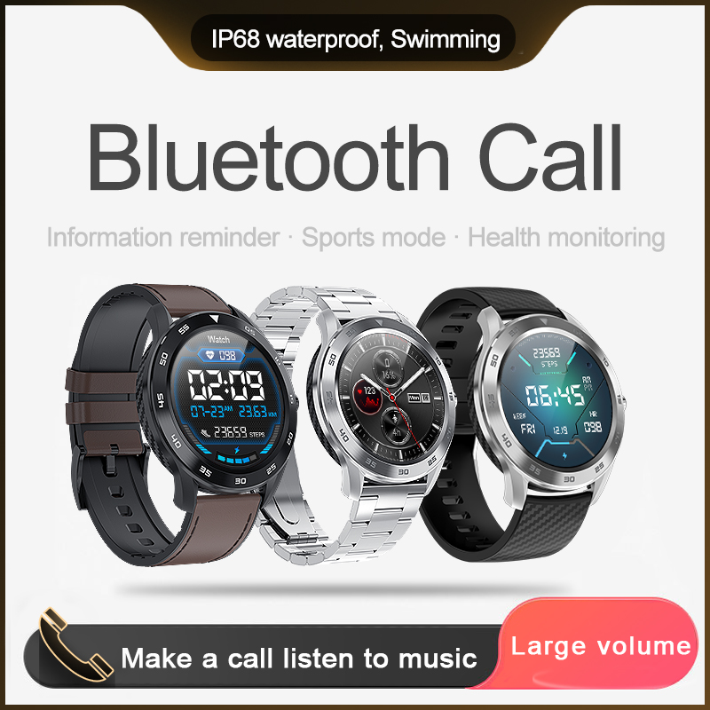 KSUN KSR909 Smart Watch IP68 Waterproof 1.3 Full Round HD Screen ECG Detection Changeable Smartwatch 4G Reloj Smart Bracelet