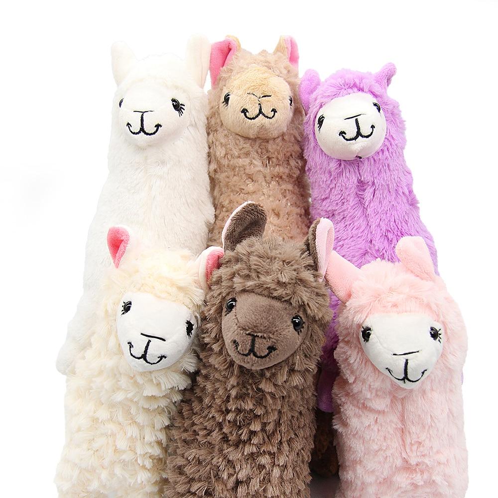 New 20cm Alpaca Plush Toys Kawaii Llama Plush Doll Toy For Kids Soft Plush Alpacasso Pillow Stuffed Animal Toy Birthday Gifts