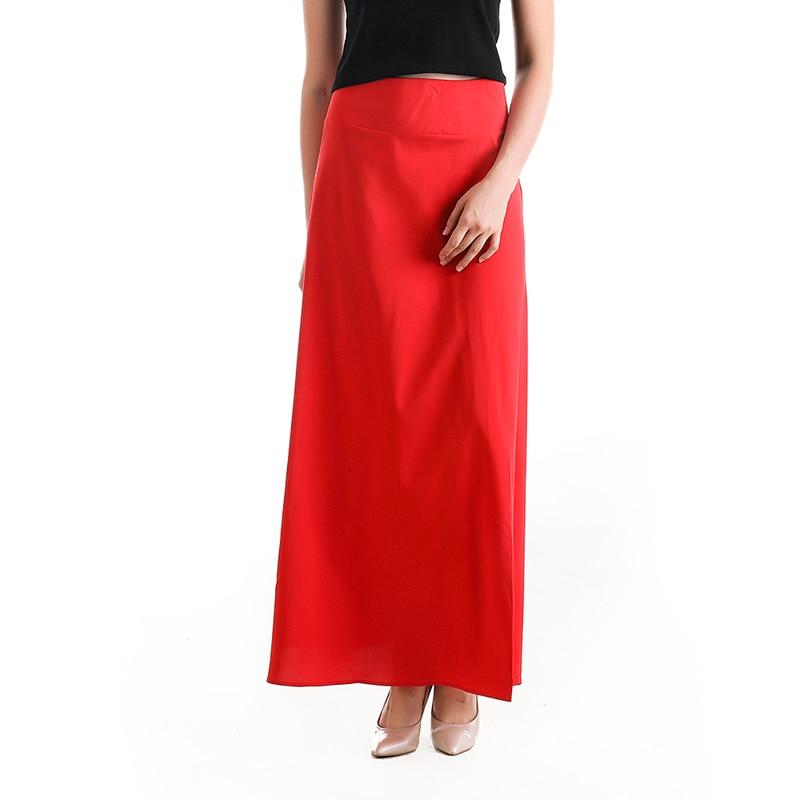 Женские юбки, женские одноцветные свободные большие свободные юбки, летняя модная повседневная одежда, Vestidos De Verano Robe Femme