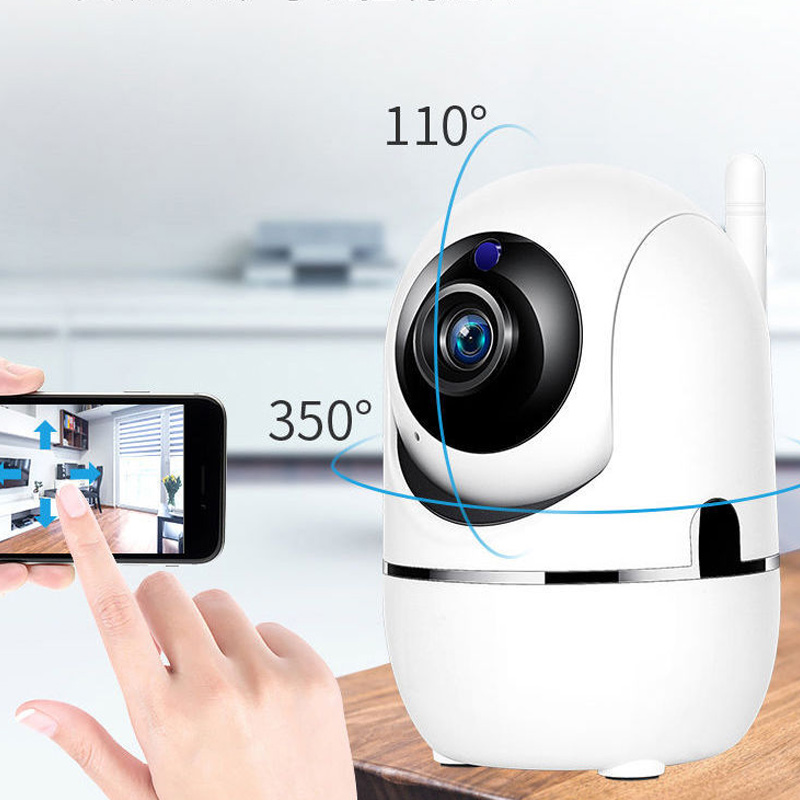 Wireless IP Camera 1080P HD Home Monitoring Indoor Wifi Camera Intelligent Automatic Tracking Infrared Night Vision Baby Monitor