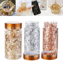 Epoxy-Mold Jewelry-Making-Tool Art-Decoration Fillings-Materials Gold-Foil Flake Resin