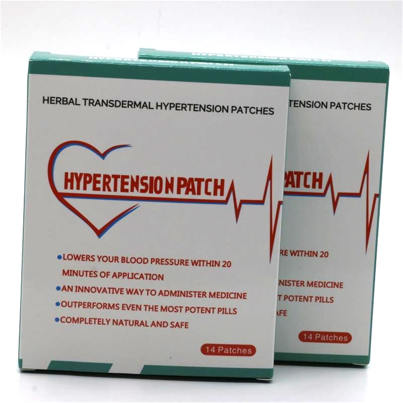 56pcs=4 Boxes Risks Of High Blood Pressure Natural Hypertension Patch Natural Cures High Blood Pressure