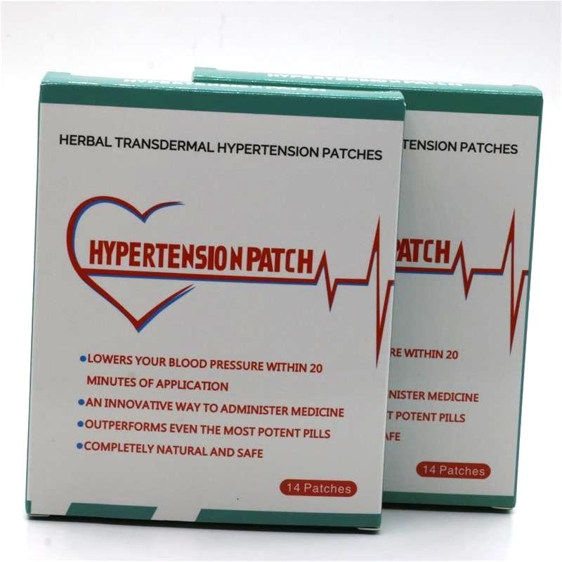 56pcs=4 Boxes Risks Of High Blood Pressure Natural Hypertension Patch Natural Cures High Blood Pressure